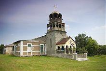 Дзвіниця церкви святого Дмитра Ростовського в Золотому Колодязі