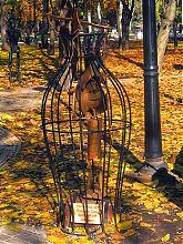 Пиноккио в донецком Парке кованых скульптур