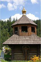 Колокольня Дмитриевской церкви в Татарове