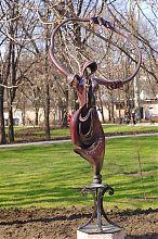 Вдохновение в донецком Парке кованых фигур