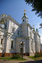 Південний неф полтавського кафедрального собору