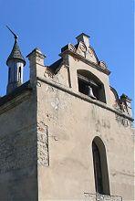 Центральний фасад меджибізької замкової каплиці