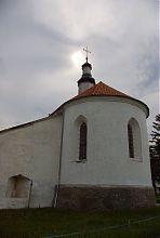 Апсида замкового храму Старокостянтинова