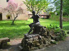 Скульптура Гермеса Ужгородского замка