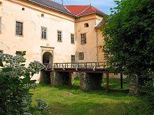 Вхід до палацу Другетів Ужгородського замку