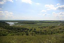 Річка Клебан-Бик в районі однойменного ландшафтного парку