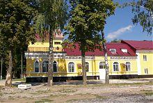 Нова частина палацу Красінських в Дунаївцях