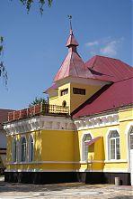 Вежа палацового комплексу в Дунаївцях