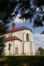 Апсида Троицкого костела в Заболотове