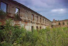 Внутренний простор парадного зала дворца Заславских