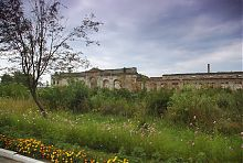 Аркадная галерея и дворец Заславских