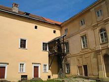 Внутренний дворик Ужгородского замка