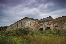 Внутренний двор Заславского замка