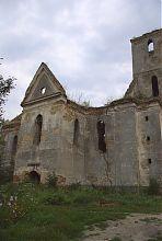 Північний фасад ізяславського фарного костелу