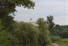 Вежа південної вісі трансепту костелу святого Михайла