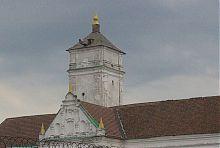 Вежа бернардинського монастиря в Ізяславі