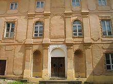 Южный внутренний фасад дворца Другетов Ужгородского замка