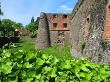 Северо-восточный бастион Ужгородского замка