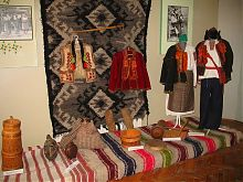 Часть этнографической коллекции Ужгородского замка