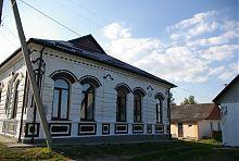 Північний фасад старої меджибізької синагоги