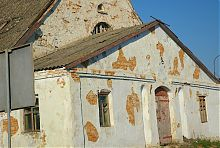 Центральний фасад бывшей водяной оборонной мельницы