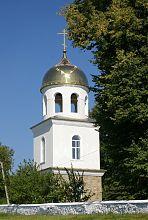 Колокольня Иоанно-Богословской церкви в Шатаве