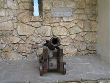 Защитное орудие замка Олеско