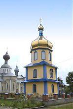 Колокольня Покровской церкви в Подволочиске