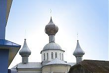 Купола храма Покрова Пресвятой Богородицы в Волочиске