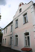 Північний фасад збереженої будівлі палацового комплексу Мошинський