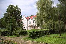 Будівля палацового комплексу Мощинських-Ледоховських у Волочиську