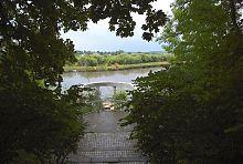 Оглядовий майданчик парку Мощинських-Ледоховських