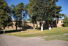 Внутренний двор василианского монастыря в Умани