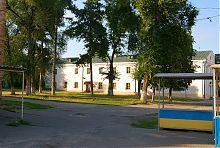Внутренний фасад северного крыла обители братьев-василиан