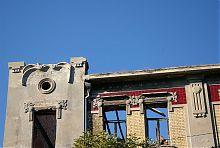 Кутовий ризаліт колишнього уманського готелю Регіна (Лондон)