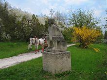 Статуя в Олесском парке