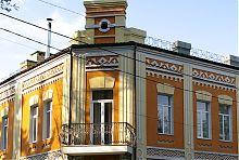 Відновлений балкон будинку Векслера