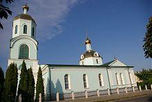 Южный фасад уманской Николаевской церкви