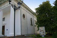 Північний фасад уманської картинної галереї