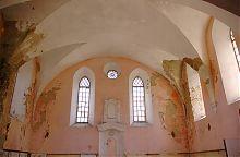 Молельный зал Гусятинской синагоги