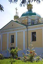 Северный фасад храма Рождества пресвятой Богородицы Хмельника