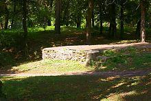 Основание одной из башен Барского замка