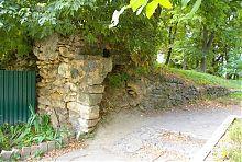 Часть восточной оборонной стены крепости в Баре