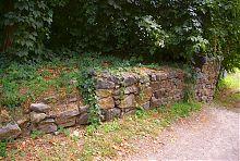 Руины въездной башни Барского замка