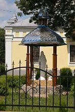 Ротонда на території греко-католицького монастиря Іоанна Хрестителя в Барі