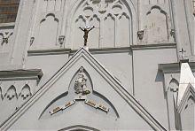 Горельєф святої Анни барського храму