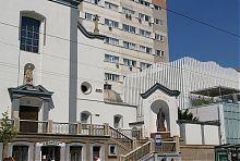 Статуя святого Петра костелу пресвятої Діви Марії в Вінниці