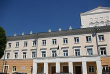 Південний фасад театру Вінниці