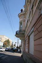 Центральный фасад винницкого дома с эркером