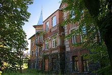 Річковий фасад особняка по Оводова 1 у Вінниці